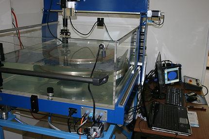 Ultrasonic testing process