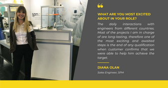 Meet Diana Olan - one of our Sales Engineers!