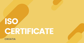 ISO Certificate Croatia