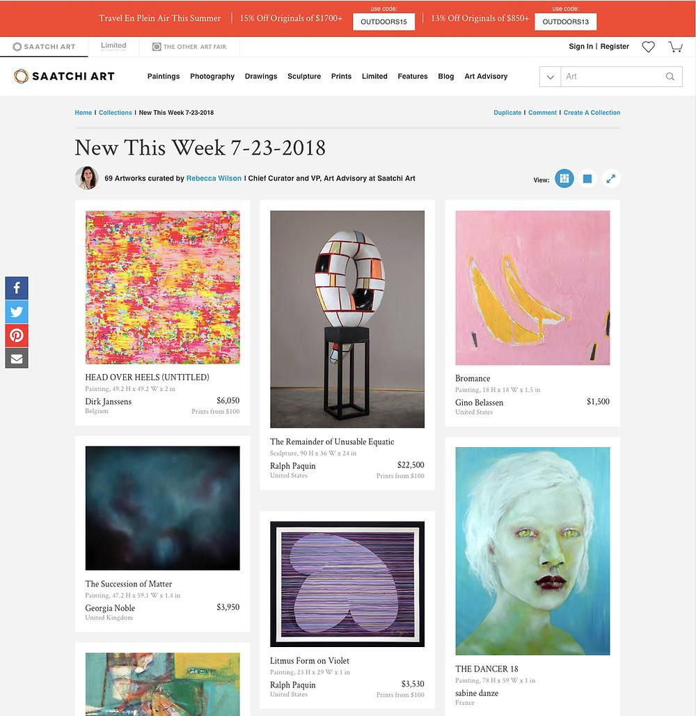 saatchi art, featured artwork, featured artist