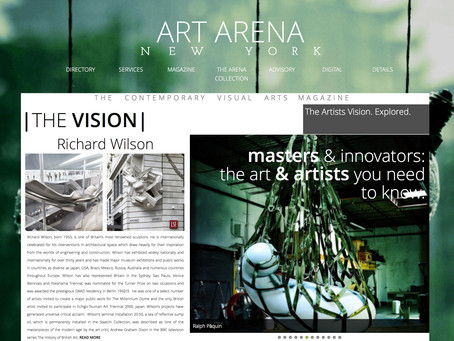 """Pàquin Named by Art Arena New York as one of the """"Masters & Innovators: The Art & Artis"""