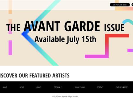 Emboss Magazine Featured Artist & Spotlight Interview w/Ralph, Avant Garde Issue
