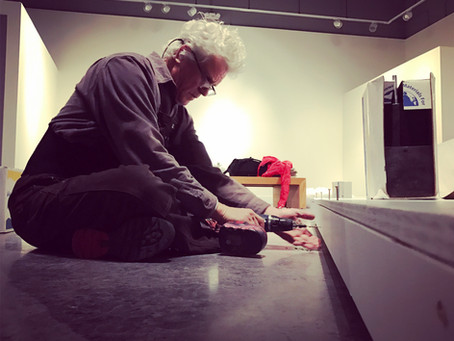 Update: Installing Solo Exhibition @ Harper Gallery