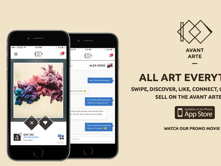 Pàquin Partners w/Avant Arte: App is Live Now!