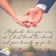 Ephesians 5:25