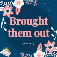Joshua 6:23