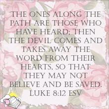 Luke 8:12