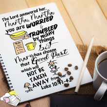 Luke 10:41-42
