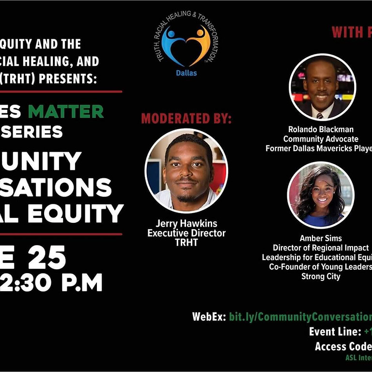 Community Conversations on Racial Equity