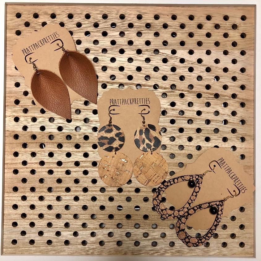 Leather Earring DIY