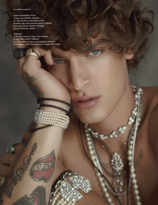 Jonathan Bellini for REFLEX HOMME Exclusive