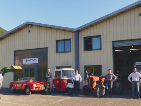 Novum Tech intègre ses nouveaux locaux dans la zone d'activité de Goncelin