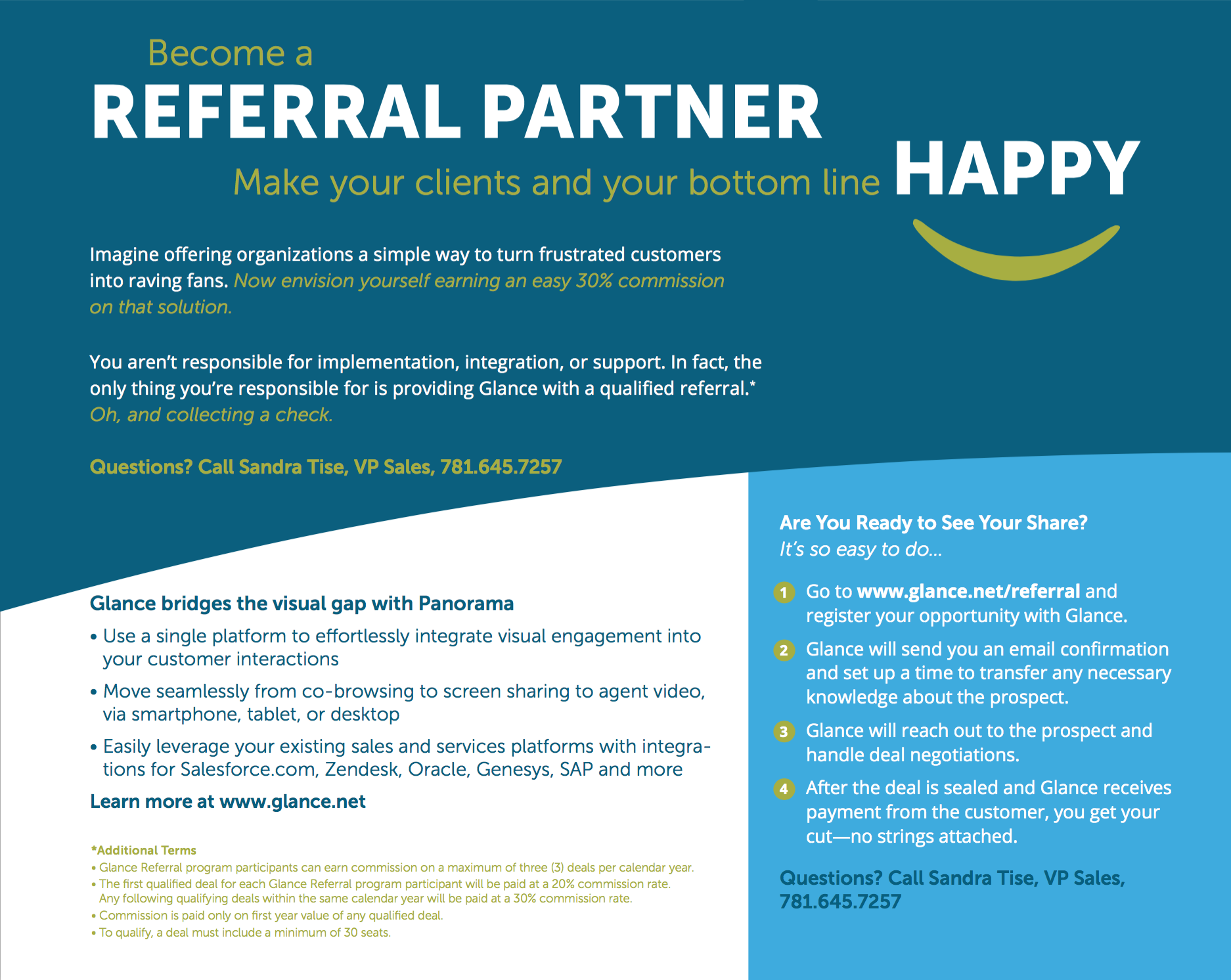 Referral Partner Program Handout