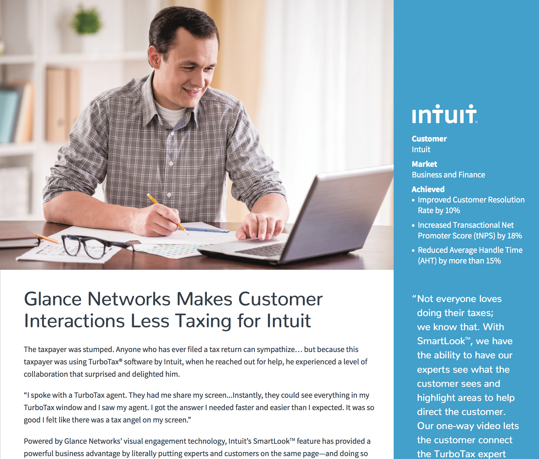 Glance Networks Case Study
