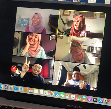 Hari Raya celebration goes online as physical visits go offline during the circuit breaker