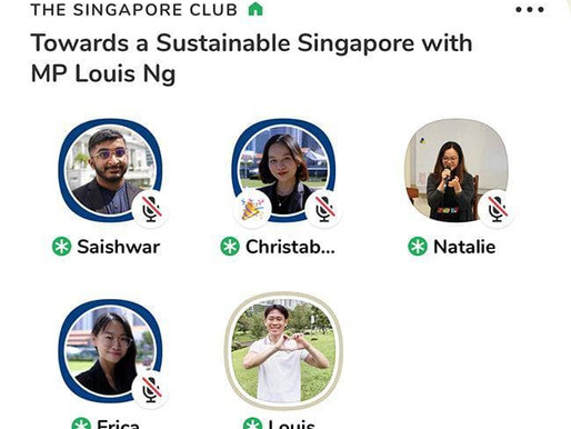 Towards a Sustainable Singapore with MP Louis Ng