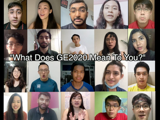 What does GE2020 mean to you?