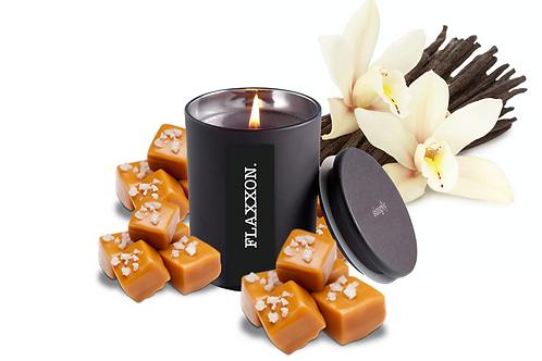 FLAXXON Vanilla Caramel Soy Candle Lge