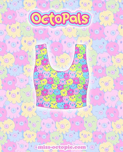 """OctoPals"" Crop Tank Top"