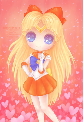 """Sailor Venus"" Art Print"
