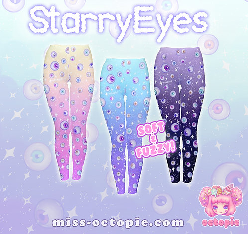 """Starry Eyes"" Velvet Leggings"