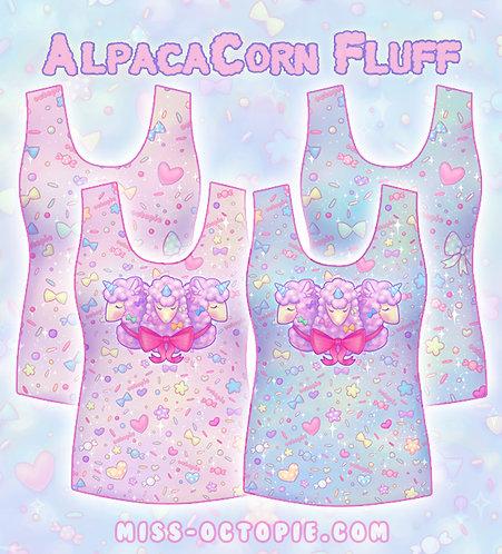 """AlpacaCorn Fluff"" Tank Top"