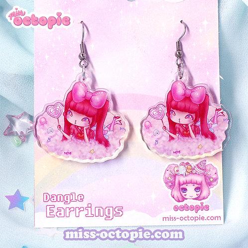 """""""Candy Kyary Pamyu Pamyu"""" Dangle Earrings"""