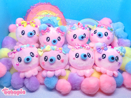 Pink Decora Octopie Hair Accessory