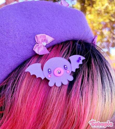 OctoBat Glitter Hair Clip