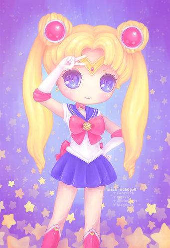 """Sailor Moon"" Art Print"
