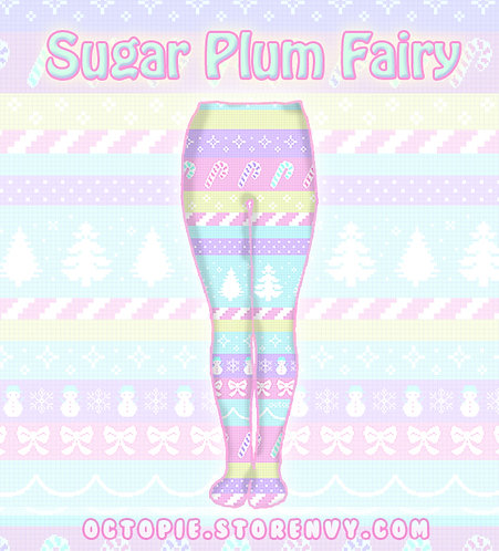 """Sugar Plum Fairy"" Tights or Leggings"