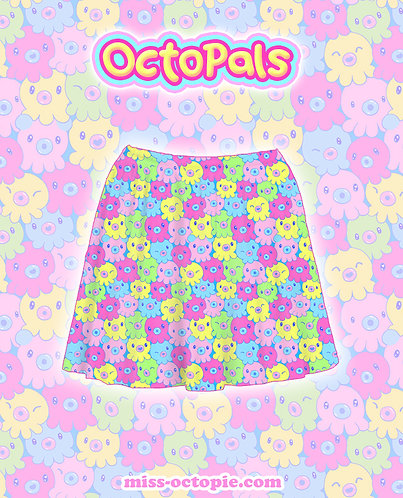 """OctoPals"" Skirt"