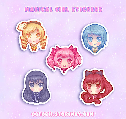 Madoka Magica Stickers