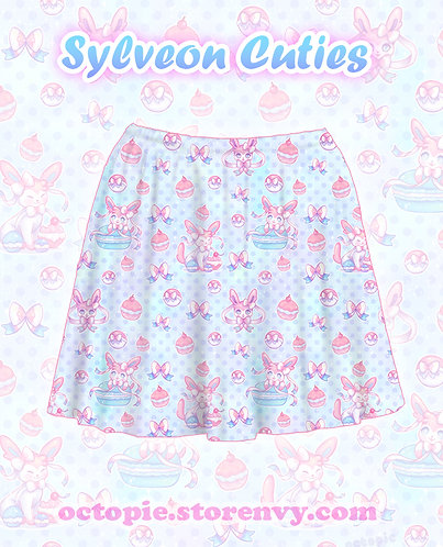 """Sylveon Cuties"" Skirt"