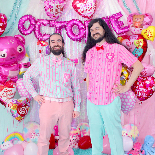 "💖 Mint ""Lacy Heart"" Long Sleeve Button-up Shirt 💖 Pink ""Lacy Heart"" Button-up Shirt"
