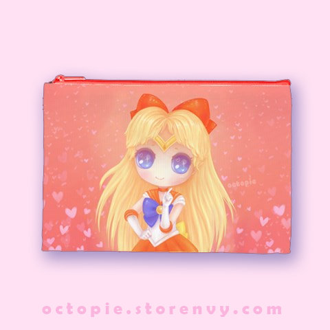 """Sailor Venus"" Zipper Pouch"