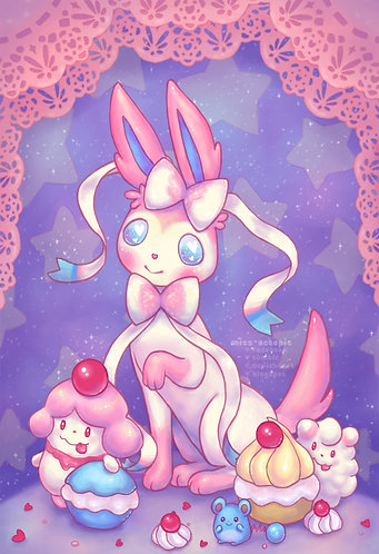 """Fairy Puff"" Art Print"