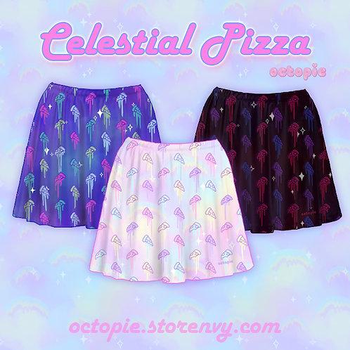 """""""Celestial Pizza"""" Skirt"""
