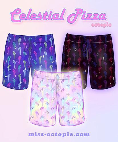 """Celestial Pizza"" Shorts"