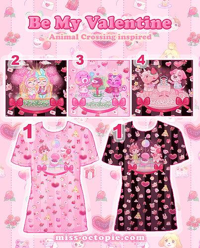 """Be My Valentine"" Animal Crossing T-Shirt"