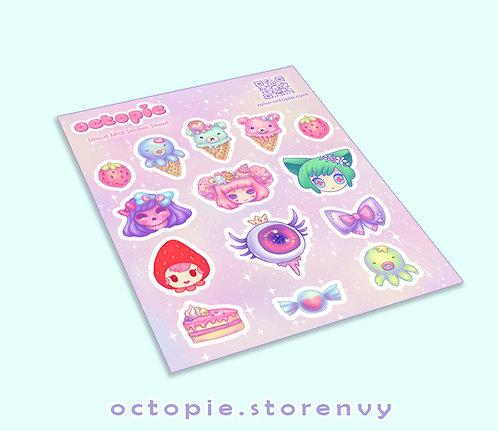Octopie Sticker Sheet