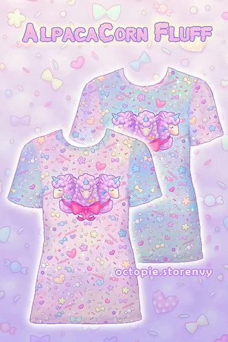 """AlpacaCorn Fluff"" T-Shirt"