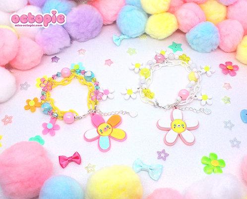 Daisy Cute Charm Bracelet