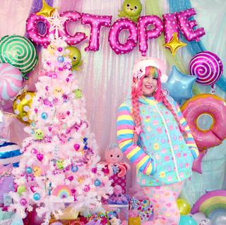 "💙outerwear: NEW Blue ""OctoParty"" Puffer Jacket 💖bottoms: NEW Pink ""Lovely Candy Heart"" Velvet Leggings"