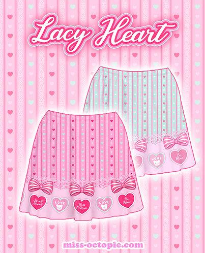 """Lacy Heart"" Skirt"
