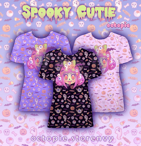 """Spooky Cutie"" T-Shirt"