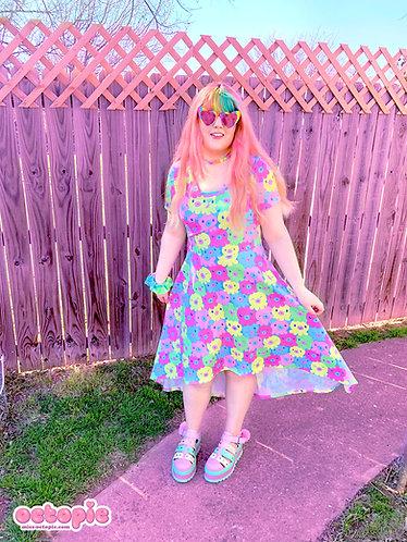 """""""OctoPals"""" Short Sleeve High-Low Dress"""