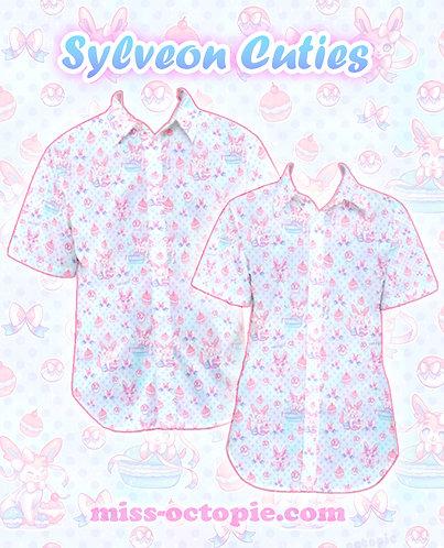 """""""Sylveon Cuties"""" Button-Up Shirt"""