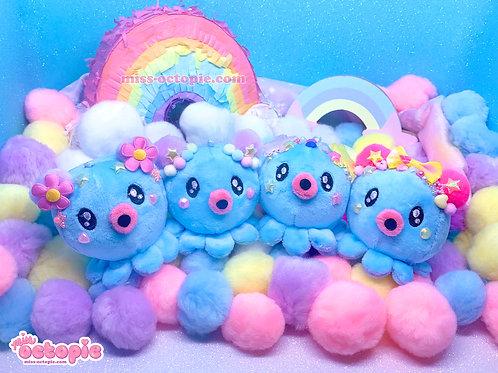Blue Decora Octopie Hair Accessory