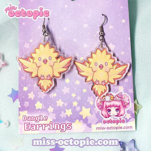 """""""Legendary Birds"""" Dangle Earrings"""